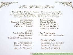wedding ceremony booklet how to make a personal wedding ceremony booklet 11 steps