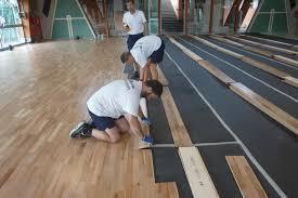 gentlemen here is the elastic wood 22 the sports floor for all