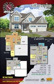 Floor Plans Of Homes Home Plans Of The Millennium Tiffany Plus Collection The