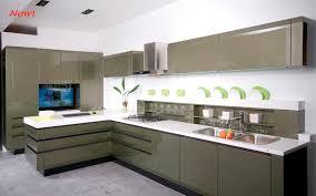 modern style kitchen design green kitchen cabinets design with green and white walls kitchen