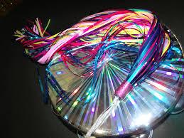 ribbon streamers tambourine tassels rainbow rainbow ribbon streamer rainbow flags