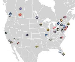 Seattle On Map by If The Nhl Expanded To Seattle How Would The New Divisions Be