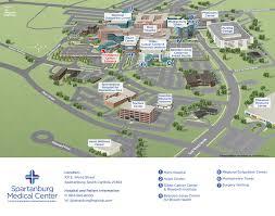 directions u0026 maps spartanburg regional healthcare system