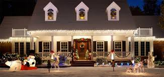 Christmas Porch Decorations Ideas by Christmas House Decorating Ideas Outside