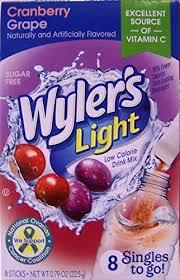wyler s light singles to go nutritional information wyler s light the best amazon price in savemoney es