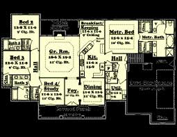 3 bed 2 bath house plans 2500 sq ft house plans awesome european style house plan 3 beds 2