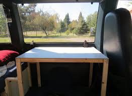 Bedroom Construction Design Chevrolet Astro Van Conversion Our Homemade Camper November