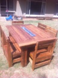 6 seater outdoor dining table pallet made 6 seater dining set for patio pallet furniture