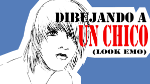 Emo Hairstyles Drawings by Como Dibujar A Un Chico Emo 2 How To Draw Emo Boy 2 Youtube