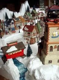 christmas village miniature houses u2013 halloween u0026 holidays wizard