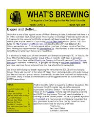 Canap茅 Lit D Appoint What S Brewing Mar Apr 2014 By What S Brewing Bc Issuu