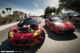 modified toyota gt86 that ferrari engined toyota gt86 speedhunters