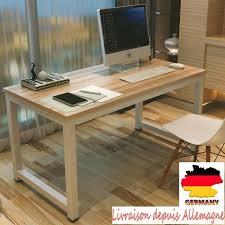 bureau ordinateur bois bureau pc meuble meuble bureau ordinateur but images d coration