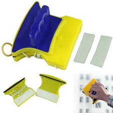 magnetic window wizard limpiador de limpiaparabrisas con doble