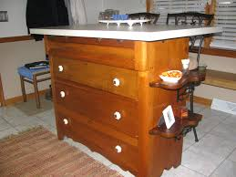 old dresser repurposed into kitchen island i painted and antiqued