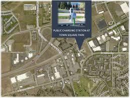 Lake Washington Map by New Electric Vehicle Charging Station Liberty Lake Wa