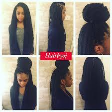 how to do a twa on medium length hair waist length medium sized full box braids hairbyoj