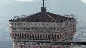 cupola di giotto firenze turisti sul canile di giotto vista dalla cupola duomo