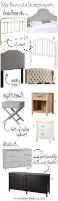 Inexpensive Bedroom Dressers The Best Inexpensive Headboards Nightstands Dressers Driven