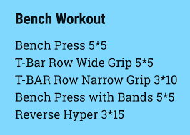 Bench Workout Routine Refining Workout Routine Feeling Gravity U0027s Pull
