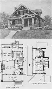 house plans green 1920s classic bungalow small homes books of a thousand homes