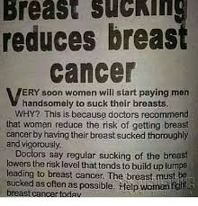 Breast Cancer Memes - breast suchinc reduces breast cancer ery soon women will start