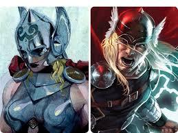 comic world shocked as thor turns female