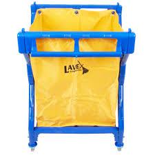 Commercial Laundry Hamper by Lavex Laundry Cart Trash Cart 10 Bushel Commercial Rolling Cart