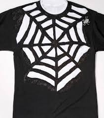 cobweb spray for halloween spider web t shirt instructions 1 lay out shirt on flat service