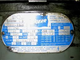 any issues running 3 phase 208v power rather than 230v or 460v