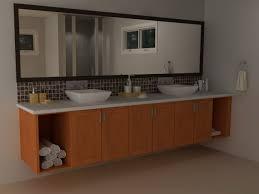 change a farmhouse sink bathroom vanity