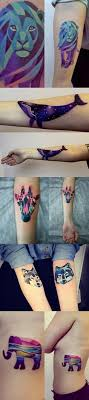 out of this unisex tattoos watercolour tattoos