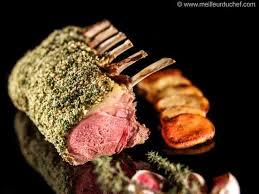 cuisiner un carré d agneau carré d agneau persillé à la moutarde notre recette avec photos