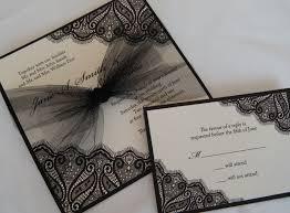 black wedding invitations amazing ivory and black wedding invitations iloveprojection
