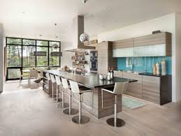 cuisine ouverte moderne cuisine moderne americaine cuisine plan meubles rangement