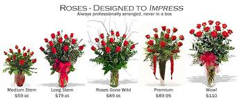 Long Stem Roses Blossom Street Florist Is A Rose A Rose Rose Comparisons The