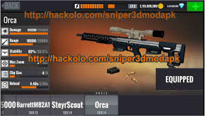 apk hack get sniper 3d assassin gun shooter apk mod unli coins and