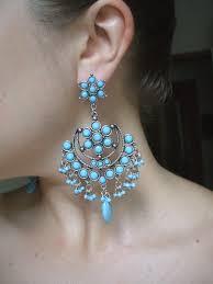 gaudy earrings day 49 risk wear dangly earrings d big year