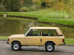 green range rover classic stock tom hartley jnr
