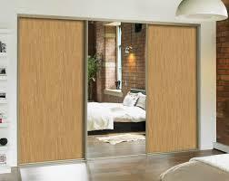 Wall To Wall Closet Doors Wall Mirror Wardrobe Door Montserrat Home Design Best Mirror