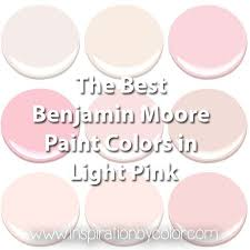 pink paint colors benjamin moore paint colors in light pink the best soft pink