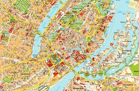 map of copenhagen copenhagen city map