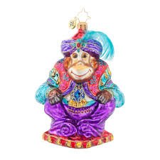 radko 1017932 ali baba jeweled monkey ornament new 2015 15 13
