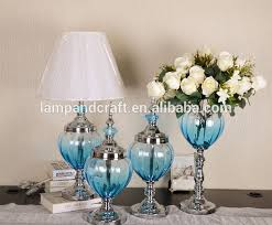 Luxury Blue Glass Home Decoration Items Wholesale Accessories - Decorative home items