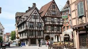 A Framed Houses by Beautiful Timber Framed Houses In Colmar France In 4k Ultra Hd