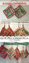 christmas potholders tutorial potholders tutorials and sewing