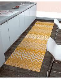 tappeto design moderno passatoia multi ambiente da cucina giallo tappeto da cucina economico