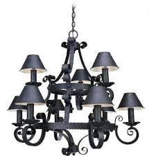Antique Iron Chandeliers Volume Lighting Chandeliers Hanging Lights The Home Depot