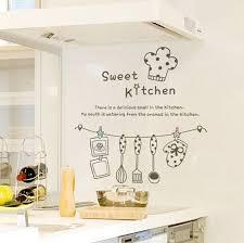 kitchen stencil ideas words on wall in modern kitchen blackboard modern