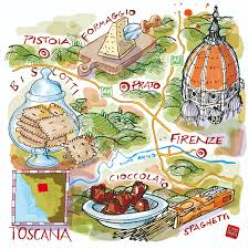 Montepulciano Italy Map by Toscana Map And Food La Repubblica Www Carlostanga Com Carlo